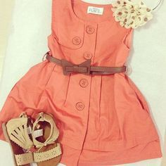 Kids fashion... In love with this!!! Braelyn needs this for summer