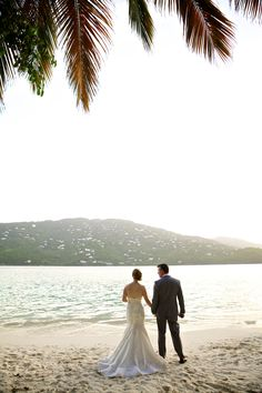 Destination Wedding in St. Thomas -- See the wedding here: http://www.StyleMePretty.com/destination-weddings/2014/04/11/st-thomas-destination-wedding/ Photography: Crown Images - sagehammond.com