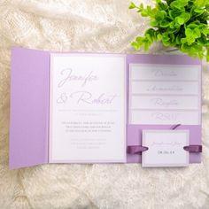 cheap simple lavender pocket wedding invitations EWPI124 http://www.elegantweddinginvites.com/product/cheap-simple-lavender-pocket-wedding-invitations-ewpi124/