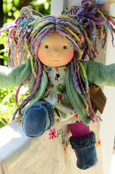 Must Have Colourful Luxury Baby Products – Handmade Waldorf Heirloom Collectable Dolls - Handmade Doll Crafts, Diy Doll, Sewing Dolls, Dolls Dolls, Doll Home, Baby Girl Dolls, Little Doll, Waldorf Dolls, Soft Dolls