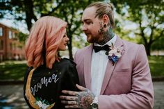 Alternative couples, you are going to just adore this rocking, edgy and urban wedding ideas editorial today. Touch Love, Luxury Wedding Cake, Perfect Sense, Rose Wedding, Videography, Bride Groom, Big Day, Blush Pink, Bridal Gowns
