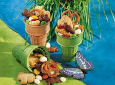 Great-tasting, fun-to-eat Critter Crunch is easy enough for kids to make.
