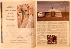 In Der Spiegel's Kommunikation Total issue chose my photo from Mongolia's Gobi Desert to illustrate the late communications revolution. Gobi Desert, Austerity, Mongolia, Choose Me, American, 1990s, Revolution, My Photos, Illustration