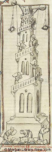 Histoire universelle depuis la Création jusqu'a César, MS M.516 fol. 19r - Images from Medieval and Renaissance Manuscripts - The Morgan Library & Museum