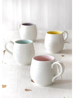 Honey Pot Mugs, £10.00 each | Mother's Day at Sophie Conran