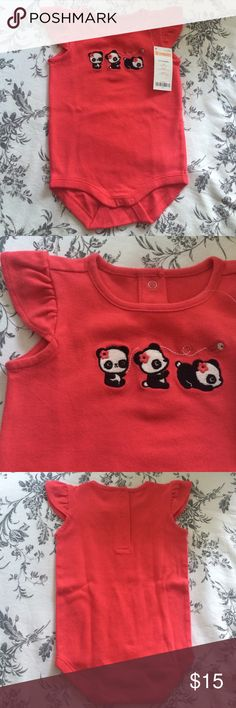 Gymboree Panda Bodysuit. Brand New Gymboree Panda Bodysuit. Brand New Gymboree One Pieces Bodysuits