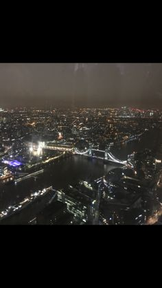 view from the Shard- london
