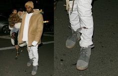 Kanye West Wearing adidas Yeezy 750 Boost in NYC | Complex UK