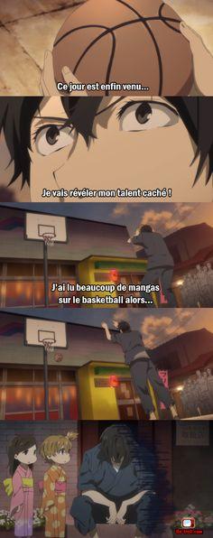 Ce jour est enfin venu, je vais révéler mon talent caché...#Anime #Basket