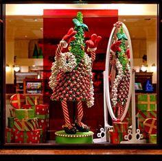 "Walt Disney World, Orlando, ""Hollywood Glam Trees,"" Karen Bohlman, manager, merchandise presentation. Photography:  Lee McKee, LeGrand Studios, Clermont, Fla.  View Image Details"