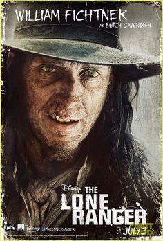 The Lone Ranger William Fichtner poster - See best of PHOTOS of the LONE RANGER film http://www.wildsoundmovies.com/the_lone_ranger_william_fichtner_poster.html