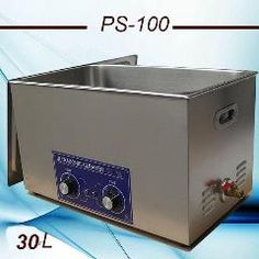 [ $35 OFF ] Globe  Free Shippig 600W Heat&timer Ultrasonic Cleaner 30L Ps-100 For Auto Parts,cleaning Equipment
