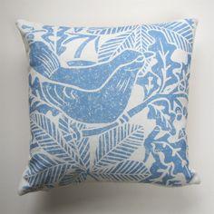 Show details for Blackbird Linen Cushion