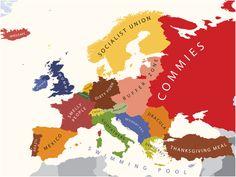Internasjonal politikk og kart : hvilke lands stereotyper er dette? (4) - kilde: Internasjonalen.com - en blogg av @kimgabrielli
