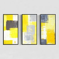 Hand-Painted Abstract Modern,One Panel Canvas Oil Painting 5112311 2017 – £109.05