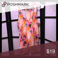 Akiko top from Anthropologie Size XS, 100% Silk, EUC, no signs of wear, beautiful colors Anthropologie Tops