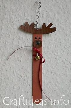 reindeer craft stick