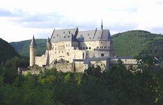 Vianden Castle Luxembourg