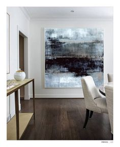 Black and white Painting Abstract Abstract painting Black