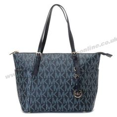 Michael Kors Grayson Should Bag Dark Blue