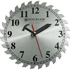 "10"" Sawblade Wallclock - Shop Clock by IIT Tool, http://www.amazon.com/dp/B001ENP1AG/ref=cm_sw_r_pi_dp_AiUcqb1Q29R8A"