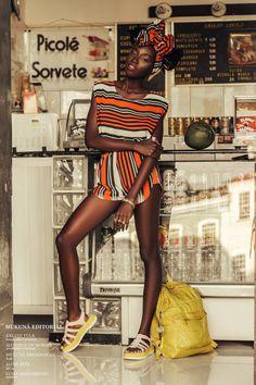 Editorial - by Mukunã Dreadlocks Photo - by Kelvin Yule Fotografia Model - Luma…