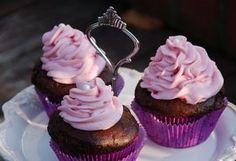 Csokis-banános cupcake