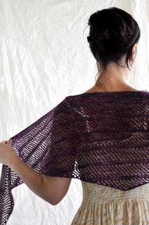 Ravelry: Wave pattern by Kristen Finlay - free pattern Shawl Patterns, Knitting Patterns Free, Free Knitting, Crochet Patterns, Knit Cowl, Knitted Shawls, Crochet Scarves, Knit Or Crochet, Crochet Shawl