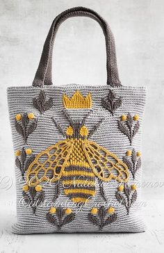 Thread Crochet, Crochet Hooks, Knit Crochet, Tapestry Crochet Patterns, Knitting Patterns, Crochet Mouse, Queen Bees, Crochet Accessories, Crochet Designs