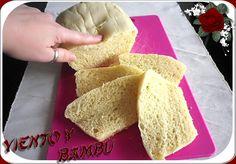 pan de molde en microondas