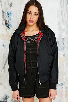 Vintage Renewal Harrington Jacket in Black - Urban Outfitters