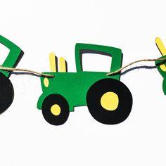 Guirnalda de tractor Bandera de tractor por EndearingCreations3