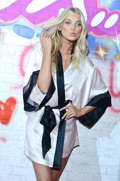 Backstage Beauty: Victoria's Secret Fashion Show 2014  - HarpersBAZAAR.com