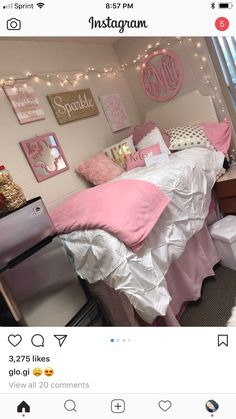 Teen Girl Bedrooms - A stunning yet alluring info on teen room examples and tips. For more smart teen girl room decor information why not push the link to wade through the pin tip 9616246226 today. Girls Bedroom, Bedroom Decor, Bedrooms, Bedroom Sets, Warm Bedroom, Bedroom Storage, Bedroom Neutral, Bedroom Interiors, Trendy Bedroom