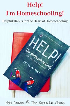 I'm Homeschooling! is a small book with a big message.You can homeschool! Up or down, good or bad, take deep breath and let Tricia's practical habits help your homeschool and household run more smoothly. Homeschool Curriculum Reviews, Homeschool High School, Homeschooling, Small Book, Teacher Notes, Deep Breath, Household, Encouragement, Messages