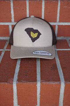 9f47c9d6f33 Trucker Hats · Low Country Clothing SC Tobacco Tan Coffee - Papa s General  Store