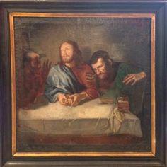 Gemälde Jesus bricht das Brot
