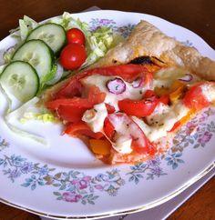 THE STELLAR DIARIES: Stellar Recipe: Tomato, Mozzarella and Pesto Pastry Puff