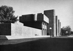 Albert C. Jacobs Life Sciences Building, Trinity College, Hartford, Connecticut, 1969 (Douglas Orr, de Cossy, Winder & Associates)