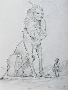 iain mccaig - Lady Sphinx