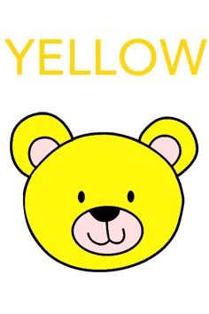 Free flashcards for babies, toddlers, and young children - COLORS! Color Flashcards, Letter Flashcards, Flashcards For Kids, Color Worksheets For Preschool, Preschool Lesson Plans, Preschool Activities, Body Parts Preschool, Bears Preschool, Alphabet Words