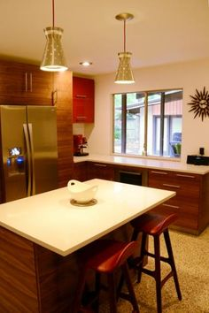 MCM kitchen   ... kitchen before remodle finished mcm kitchen finished mcm kitchen