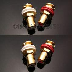 Viborg audio Gold Plated Female RCA Jack Socket Connector 8PCS