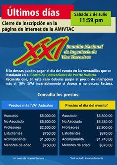 Mañana 2 de julio se cierra la inscripción por el portal de la AMIVTAC.