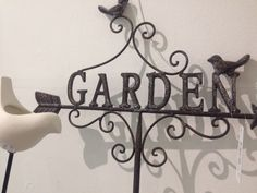 Does Dad take a lot of pride in his garden?  This lovely garden stake and ceramic birdfeeder might be just what he wants.