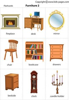 Kids Pages - Furniture2