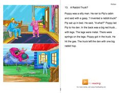 50+ Illustrated decodable PDF Fiction passages - can be opened in apps like ScreenChomp, PaperPort Notes, and VoiceThread to be annotated or recorded over