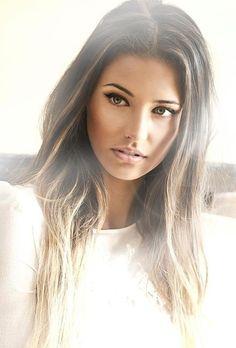 Pretty ash brown hair with highlights. This is the new look im going for! Ash Brown Hair With Highlights, Ombre Hair, Gorgeous Hair, Dark Hair, Pretty Hairstyles, New Hair, Hair Inspiration, Character Inspiration, Wedding Inspiration
