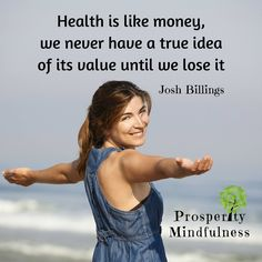 Health is like money...  #prosperitymindfulness #keepsmiling #ptsd #loveyourself #instagood #positivevibes #panicdisorder #mentalhealthmatters #traumas #meditation #instamood #positivemind #depression #Namaste #cptsd #healthylifestyle #anxiety #desire #success #inspiration #compassion #grateful #wellness #anxietyrelief #motivation #posttraumaticstressdisorder