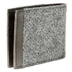 Sivá lodénová pánska peňaženka – waidzeit.sk Wallet, Fashion, Moda, Fashion Styles, Fashion Illustrations, Purses, Diy Wallet, Purse